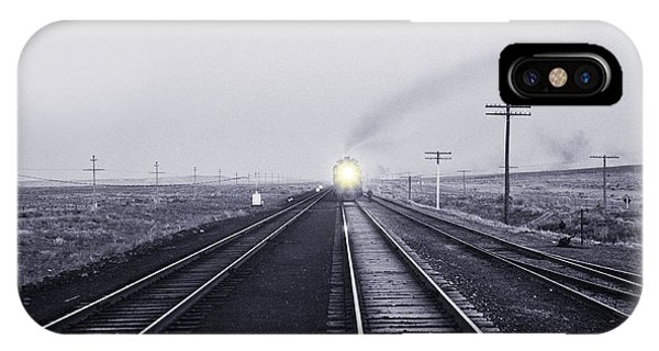 Trucking iPhone Case - The Atchison Circa 1943 by Aged Pixel