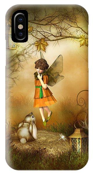 The Autumn Fairy IPhone Case