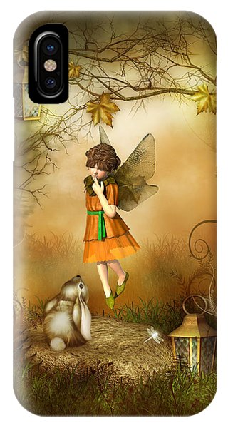 The Autumn Fairy IPhone Case
