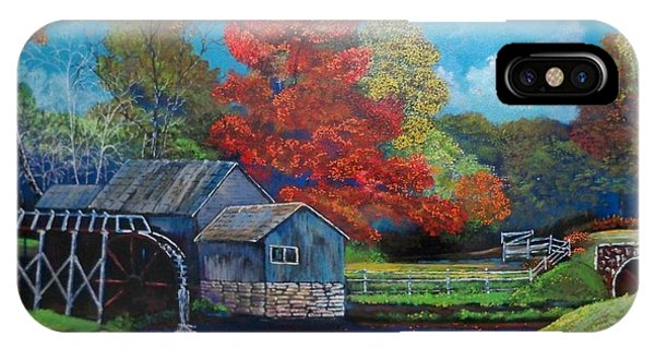 The Autumn Gristmill IPhone Case