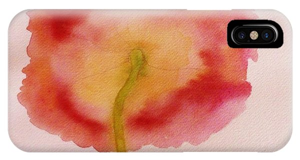 The Back Side Of A Poppy IPhone Case