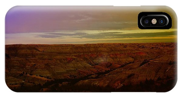 North Dakota Badlands iPhone Case - The Badlands by Jeff Swan