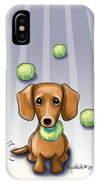 The Ball Catcher IPhone Case