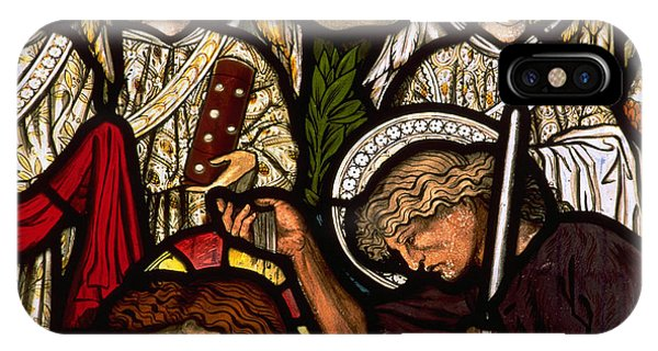 Pre-modern iPhone Case - The Baptism Of Jesus by Philip Ralley
