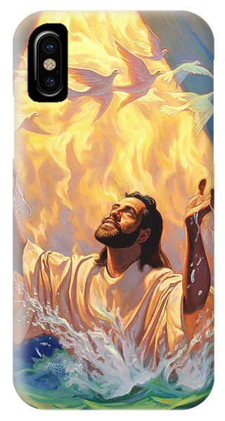 The Baptism Of Jesus IPhone Case