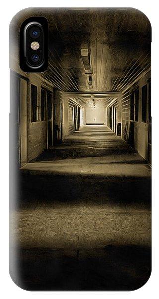 The Barn Aisle IPhone Case