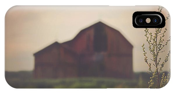 Barn iPhone Case - The Barn Daylight Version by Carrie Ann Grippo-Pike