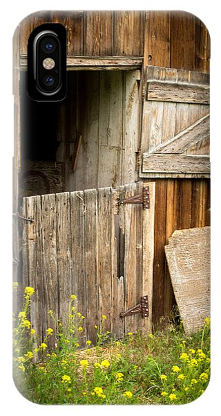 The Barn Door IPhone Case