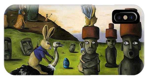 The Battle Over Easter Island IPhone Case