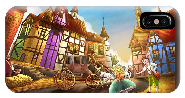 The Bavarian Village IPhone Case