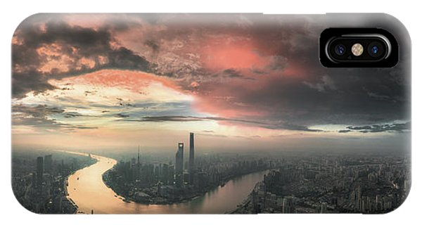 Rooftops iPhone Case - The Bay by Stan Huang