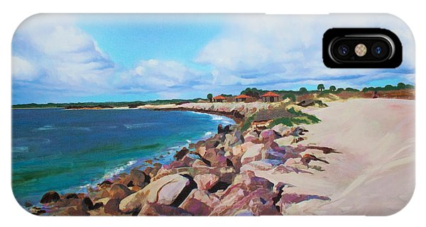 The Beach At Ponce Inlet IPhone Case