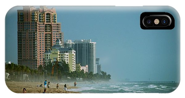 The Beach Near Fort Lauderdale IPhone Case