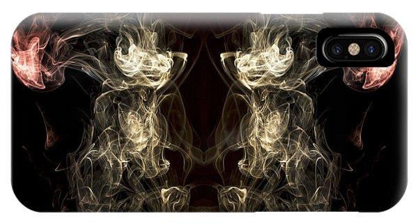 Smoke Fantasy iPhone Case - The Beast by Edward Fielding