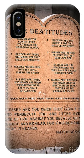 The Beatitudes IPhone Case