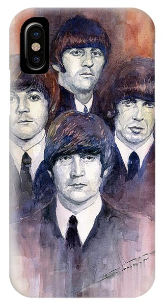 The iPhone Case - The Beatles 02 by Yuriy Shevchuk