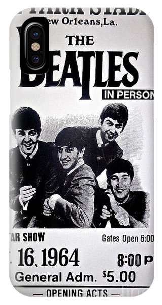 The Beatles Circa 1964 IPhone Case
