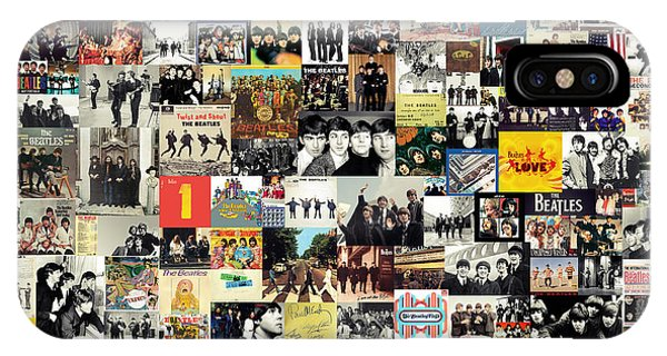 The Beatles Collage IPhone Case