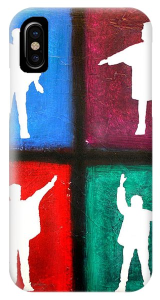 The Beatles Help Pop Art IPhone Case