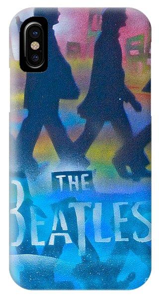 Mtv iPhone Case - The Beatles Walk by Tony B Conscious