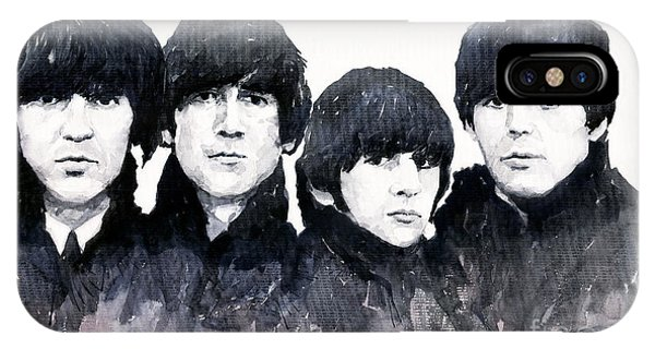 Figurative iPhone Case - The Beatles by Yuriy Shevchuk