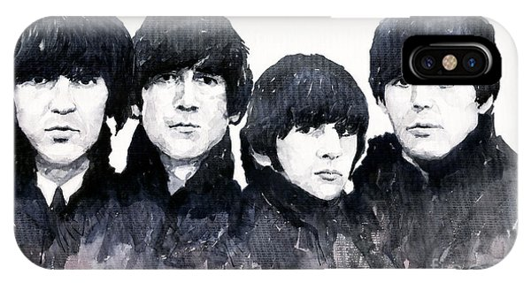 Musicians iPhone X Case - The Beatles by Yuriy Shevchuk