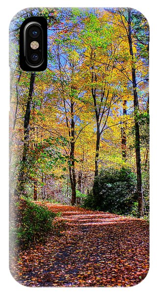 The Beauty Of Fall IPhone Case