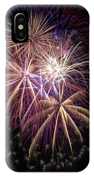 The Beauty Of Fireworks IPhone Case