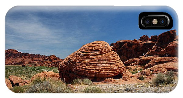 515p The Beehive In Valley Of Fire IPhone Case