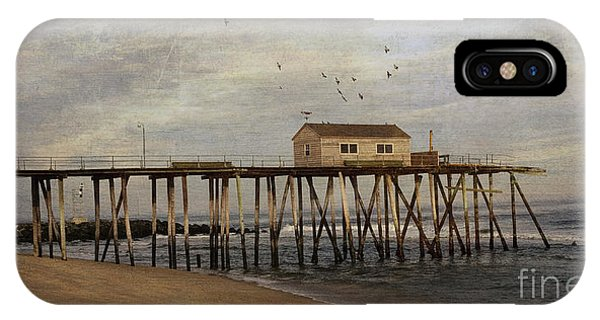 The Belmar Fishing Club Pier IPhone Case