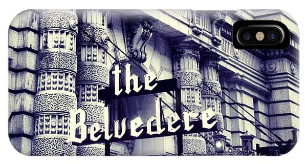 The Belvedere IPhone Case
