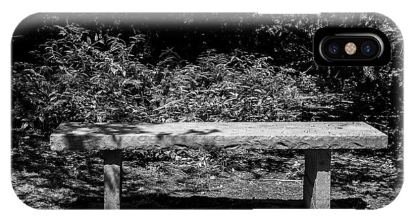iPhone Case - The Bench by George Fredericks