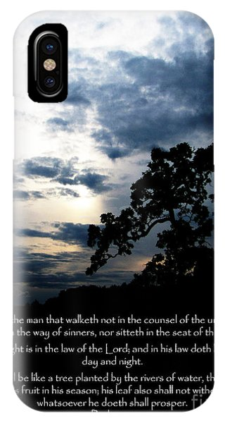 The Bible Psalm 1 IPhone Case