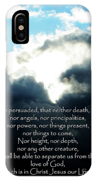 The Bible Romans 8 IPhone Case