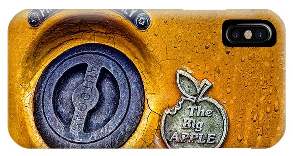 New York City Taxi iPhone Case - The Big Apple by John Farnan