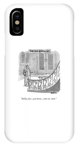 The Big Kowalski -- Main Character Of The Big IPhone Case
