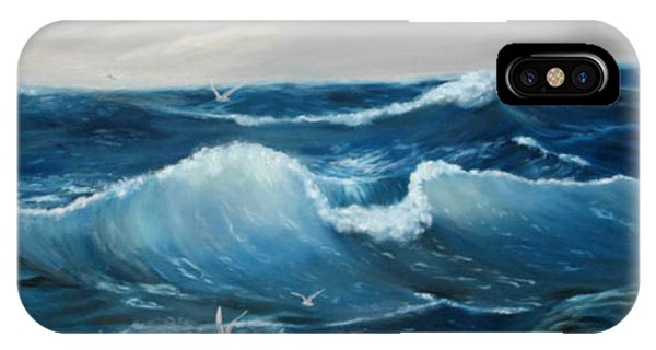 The Big Ocean IPhone Case