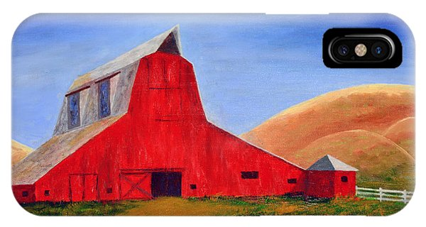 The Big Red Barn IPhone Case