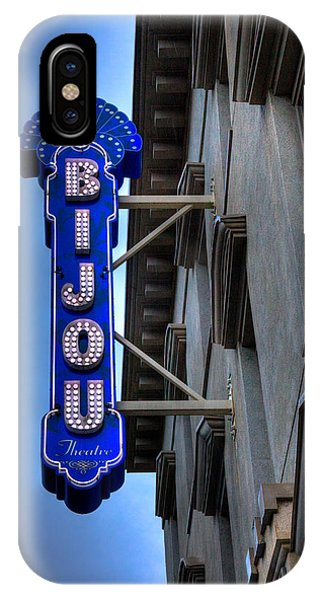 The Bijou Theatre - Knoxville Tennessee IPhone Case