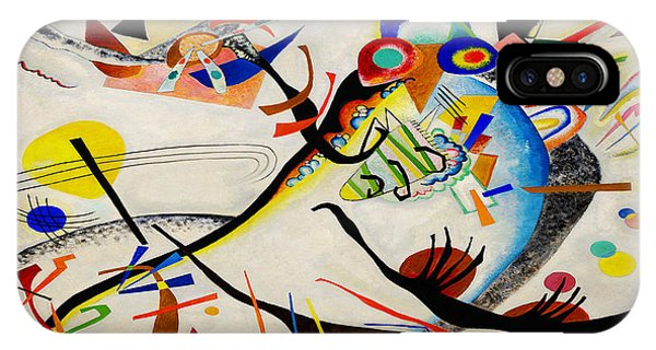 IPhone Case featuring the painting The Bird by Wassily Kandinsky