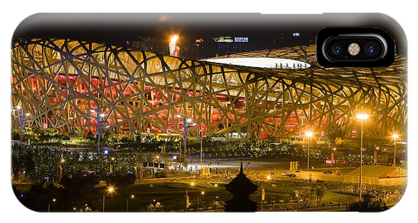 The Birds Nest Stadium China IPhone Case
