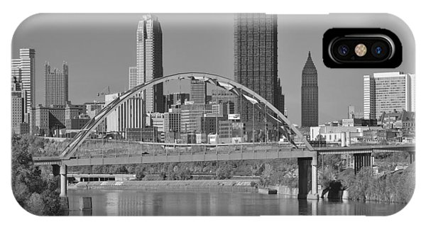 The Birmingham Bridge In Pittsburgh IPhone Case