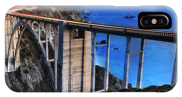 The Bixby Bridge  IPhone Case