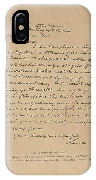The Bixby Letter IPhone Case