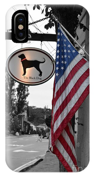 The Black Dog Store IPhone Case