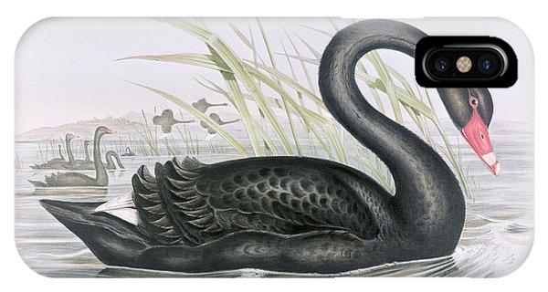 The Black Swan IPhone Case