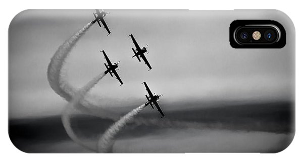 The Blades In Formation Sunderland Air Show 2014 IPhone Case