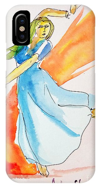 The Blazing Dancer IPhone Case