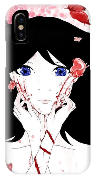 The Bleeding Mother IPhone Case