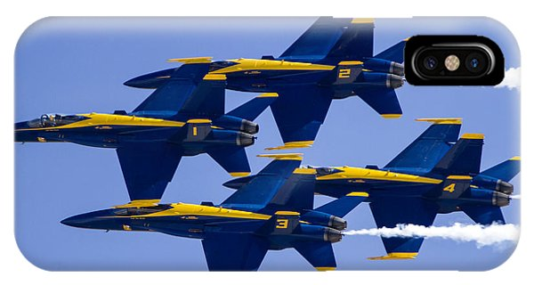The Blue Angels In Action 1 IPhone Case